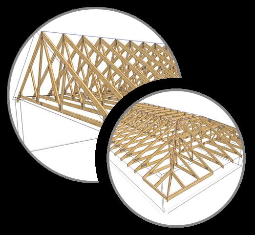 Výhody väzníkového krovu